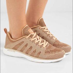 APL rose gold  Propelium sneakers size 7,5 US